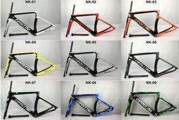 Speed S NZ - Newest MCipollini NK1K T1000 1K or 3k frame Full Carbon Road Bike Frame,fork Size:XXS,XS,S,M,L, bicycle frameset