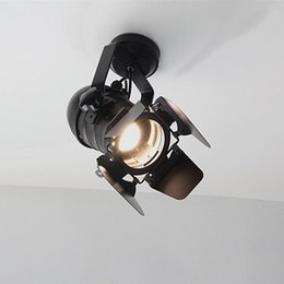 China LED Wall Lamp American Retro Country Loft Style lamps Industrial Vintage Iron wall light for Bar Cafe Home Lighting. cheap retro home bars suppliers