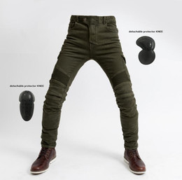 $enCountryForm.capitalKeyWord NZ - Men uglybros motorcycle pants motorpool jeans casual pants with 4 pieces of protetion gears racing pants