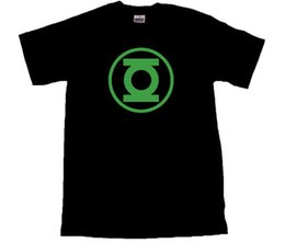 661175d35d0130 Green Lantern Logo T-shirt All Sizes   Black Cool Casual Pride T Shirt Men  Unisex Fashion Tshirt Free Shipping Funny Tops