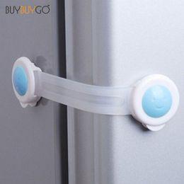 Cabinet Lock Fridge Door Locks Candy Color Plastic Locks Prop Safe C8 Baby