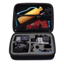 Discount xiaomi yi accessories - Black Medium size Travel Storage Case for Hero 6 5 3+ 4 Black SJcam SJ4000 Xiaomi Yi 4K Action Camera Case Bag Accessori