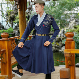 2018 summer ancient chinese costume men tang dynasty suit hanfu men cosplay ancient costume photography stage clothes  sc 1 st  DHgate.com & Shop Chinese Hanfu Costume UK | Chinese Hanfu Costume free delivery ...