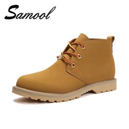 38a7b07f Faux Suede Leather Men Boots Primavera Otoño e Invierno Hombre Zapatos  Cómodo Tobillo Boot Hombres Snow Shoes Work Plus Size 39-45 Gx4