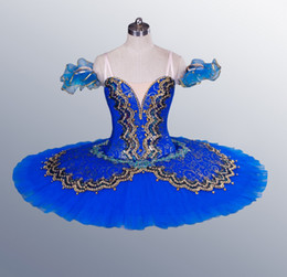 tutus women NZ - Blue Bird Professional Tutus Competition Ballet Costumes green Women Adult Classical Performance Ballet Tutu Le Corsaire dress