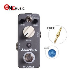 $enCountryForm.capitalKeyWord Canada - Mooer Shim Verb Reverb Pedal Distortion Guitar Effect Pedal 3 Reverb Modes: Room Spring Shimmer Full Metal Shell True Bypass