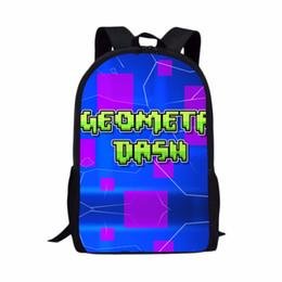 74ff0df86ef6 Geometry nail Dash School Bags Boys Girls Backpacks School Supplies Schoolbag  Pencil Box Cases For Boy Gift Kids Love