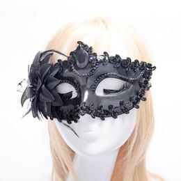 $enCountryForm.capitalKeyWord Australia - 2018 New Women Girl Princess Venice Half Face Mask Colorful Plating Flower Mask Halloween Dance Party Dress Decoration