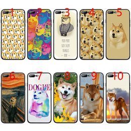 Iphone 5s Dog Cases NZ - Brushwood Doge Shiba Inu Funny Dog Soft Black TPU Phone Case for iPhone XS Max XR 6 6s 7 8 Plus 5 5s SE Cover