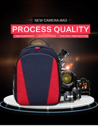 dslr cameras bags UK - Waterproof DSLR Camera Bag Backpack Photo Video Travel Outdoor Case Scratchproof Hiking For Canon EOS 20D