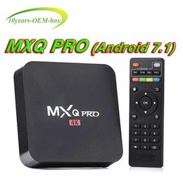 $enCountryForm.capitalKeyWord NZ - MXQ Pro 4K Android TV Box Amlogic RK3229 Chipset Android 7.1 Lollipop OS 1G 8G 4K Google Streaming Media Players