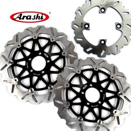 $enCountryForm.capitalKeyWord NZ - ARASHI Front Rear Brake Rotors Disc Disk Kit For Kawasaki Ninja ZX12R 2000 2001 2002 2003 ZX-12R