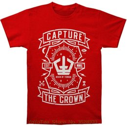 35058c29 Men's Crowns Canada - T-shirt Summer Style Funny Capture The Crown Men' ;
