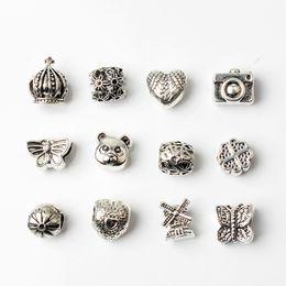 Смешанный стиль оптовые бусины подвески для Pandora DIY ювелирных изделий европейские браслеты браслеты женщины девушки лучшие подарки