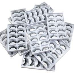 $enCountryForm.capitalKeyWord Australia - 3D Mink Lashes Mink Eyelashes Natural Long Thick Eyes Makeup False eyelashes Make Up Fake Eyelash Extensions Eye lashes 5pairs  set