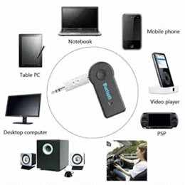 $enCountryForm.capitalKeyWord NZ - Streaming Car A2DP Wireless Bluetooth AUX Audio Music Receiver Adapter with Microphone for iPhone Samsung Android Cell Phones