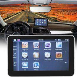 Gps Car Portable Australia - 505 5-Inch Capacitive Touch Screen GPS Navigator Portable 4G 8G High Definition Bluetooth GPS Navigation For Car Truck 480*272