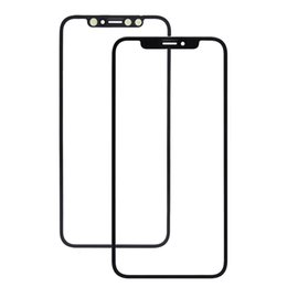 Moq Screen Australia - (MOQ 50Pcs) Front Glass Panel For iPhone X   XS   XS Max   XR LCD Outer Touch Screen Panel Replacement Ship via DHL