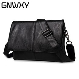 $enCountryForm.capitalKeyWord NZ - GNWXY 2018 New Arrival Fashion Men Vertical Shoulder Bags PU Leather Business Casual Travel Bags Briefcase Designer Handbags
