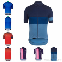 Discount vest team cycling - RAPHA team Cycling Short Sleeves Sleeveless Jerseys Vest Hot Sale Ropa Ciclismo Breathable Bike Clothing F503