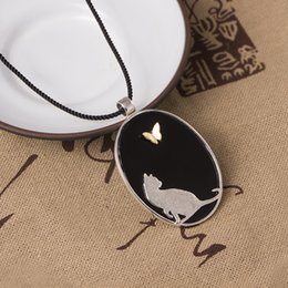 Necklaces Pendants Australia - Fashion charm original design 925 sterling silver Cat Pendant literature and art small and fresh kitten Necklace hip hop jewelry 14K Gold
