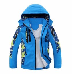 China South Korea Fashion Children Boy's Hooded Jacket Coats Kids Active Clothing Double-deck Waterproof Windproof Boys Outwears suppliers