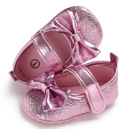 Great Bows Australia - Fashion Infant Newborn Baby Baby Girls Shoes Bow Anti-slip Single Sneake Hot Sale Solid Hook & Loop Shorts Great gift to