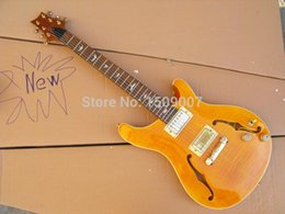 $enCountryForm.capitalKeyWord NZ - Yellow flame maple top, Custom 22 Guitar Mahogany body Electric Guitar Chinese guitar