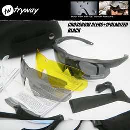 Army goggles online shopping - Tactical Army goggles HD polarized eyewear TR90 proof gafas UV400 Shooting Protective Glasses