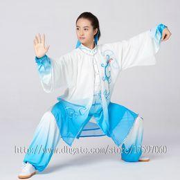 $enCountryForm.capitalKeyWord Australia - Chinese Tai chi clothing taiji sword garment Kungfu outfit performance suit embroideried for women men children boy girl kids adults