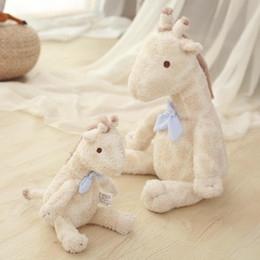 soft toy couple Australia - Cute Giraffes Stuffed Plush Toys Animals 35cm Couples Valentine Gift Super Soft Plush And Cute Appearance