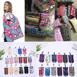 Stocking nylon lady online shopping - Newest folding Bag Nylon Foldable Shopping Bags Reusable Eco Friendly folding Bag Shopping Bags new Ladies Storage Bags I274