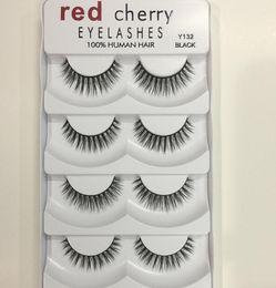 dbafd35a3ff Lower Lashes faLse eyeLashes online shopping - 2018 New Makeup Red Cherry  False eyelashes pairs pack