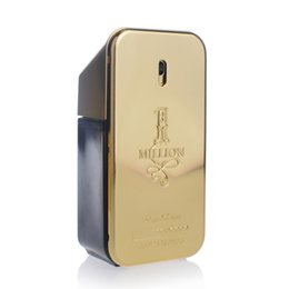 Wholesale 2018 Hot perfume rabanne Gold Million perfume man ml and Women ml perfume with long lasting time Million Spary perfume