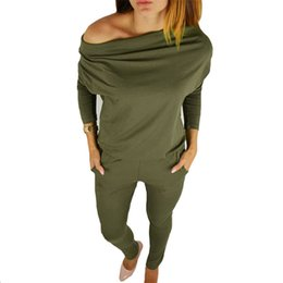 b08ca5d9c19 Autumn female body with long sleeves overalls for women rompers jumpsuits  combinaison femme sexy bodysuits lady Green playsuits