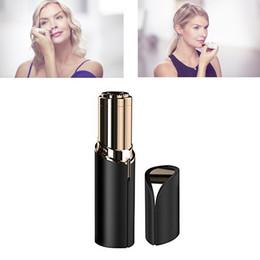 HR006 помада женщины лица для удаления волос лица эпилятор безболезненно 18K позолоченный Remover 4 цветов, чтобы выбрать бесплатную доставку