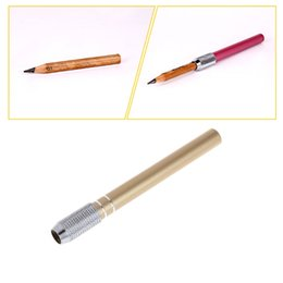 1 Pcs Pencil Extender Lengthener Wooden Holder Painting Drawing Tool Adjustable