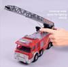 Red Cars Toys NZ - Spray Water Gun Toy Truck Firetruck Fireman Fire Truck Light Cool Vehicles Car Music Educational Toys for Boys Kids