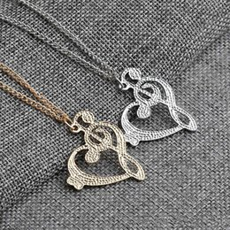 love lockets pendants 2020 - New Arrivals Arrival Jewelry Locket Crystal Necklaces & Pendants Love Musical Note Chain Necklace For Women Pendant Neck