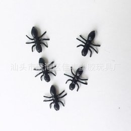 China Novelty Simulation Ant Toys Animal Insect False Pismire PVC Toy For Halloween Party Frightening Prank Supplies Hot Sale 2 28yy bb supplier stock toys for sale suppliers