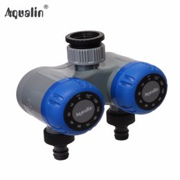 Mechanical water tiMer online shopping - water timer Dual outlet Two Outlet Mechanical Hose Faucet Water Timer Garden Irrigation No Batteries Required