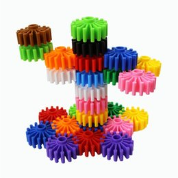 China Gear Building Blocks Plastic Circular Shape Originality Desktop Game DIY Assembling Kids Puzzle Education Toys High Quality 11ww Z supplier blocks shapes toys suppliers