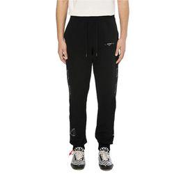 $enCountryForm.capitalKeyWord Canada - 18FW Luxury 3D Sketch Print Stripe Pants New Retro High Street Cotton Comfortable Sports Men Lovers Legs Pants HFSSKZ015