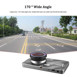 dual car dvr rear front UK - Best car DVR full HD driving black box 2Ch 1080P car video dashcam front 170° rear 120° starlight night vision WDR G-sensor