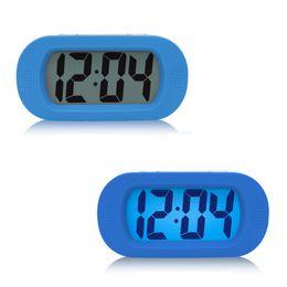 $enCountryForm.capitalKeyWord UK - Kids Alarm Clock LED Snooze Battery Lamp Bedside Electronic Desk Clock Small Digital Talking Reloj Mesa Table clocks 50A0068