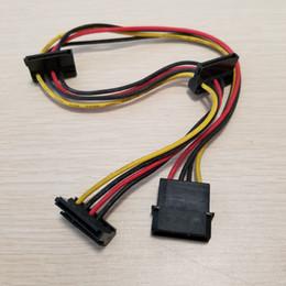 $enCountryForm.capitalKeyWord Australia - 4Pin IDE Molex to 3-Port SATA Power Extension Cable 18AWG for Hard Drive HDD SSD PC Server DIY 40cm