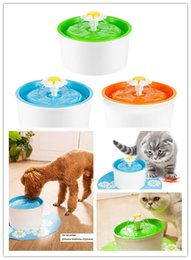 water fountains indoor plastic Australia - 2018 HOT Mini Automatic circulation electric Silicone fountain water feeder dog cat drinking machine 3 Colors EU US UK plug dhl free