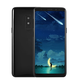 Chinese  Cheap Goophone S9+ Plus Clone 6.2 inch Full Screen 1440*720 HD 2.5D Glass Curved 3G WCDMA Quad Core MTK6580 1.3GHz 1GB 4GB+32GB Smartphone manufacturers