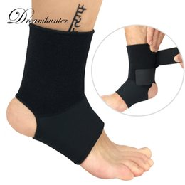 Ankle Supports Canada - 1 PCS Elastic Ankle Protectors Bandage Straps Sports Compression Ankle Supports Braces Sprain Safety Basketball Hiking