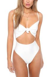 New Push Up Women Bikinis High Waist One Piece Swimsuit Swimwear  Comfortable Cheap Wholesale 2018 SO0515 fdbd82928258